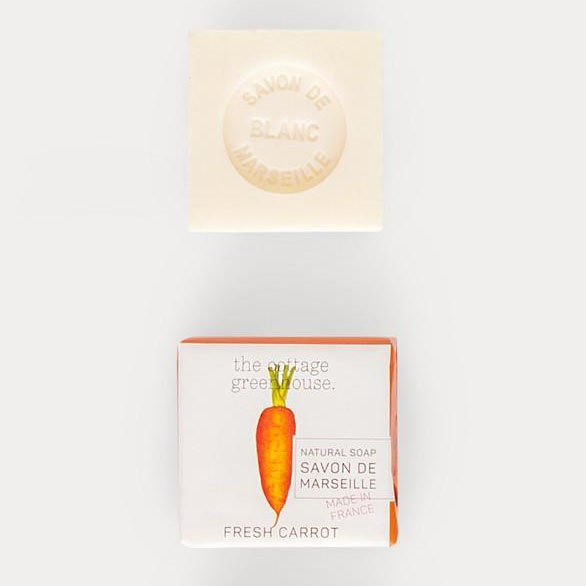 Marseille Carrot Soap by The Cottage Greenhouse