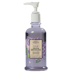 Caswell-Massey Lilac Bath and Shower Gel