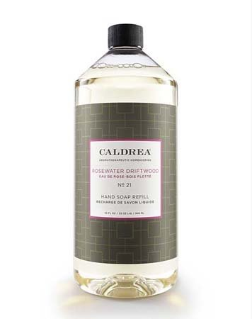 Caldrea Rosewater Driftwood Hand Soap Refill