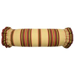 Decorative Neck Roll Pillow Pattern : Waverly Floral Flourish Cordial Neck Roll Decorative Accessory Pillow - PC Fallon