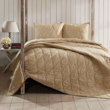Harbour Sand Twin Quilt 86x68