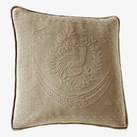King Charles Matelasse Birch 20 inch Decorative Pillow