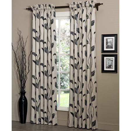 Yvette Eclipse Lined Tailored Drapes