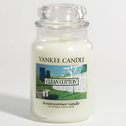 Yankee Candle Clean Cotton Large Jar Candle