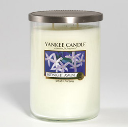 Yankee Candle Midnight Jasmine Large 2 Wick Cylinder Candle
