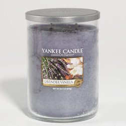 Yankee Candle Lavender Vanilla Large 2 Wick Cylinder Candle