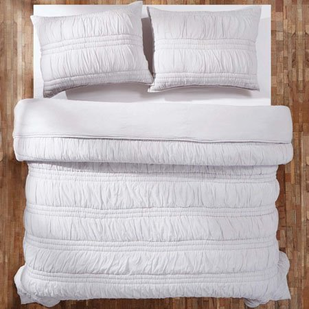 Natasha Silver Cloud Lux King Set; 105x120-2 Shams 21x37