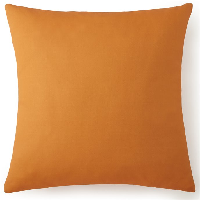 Nautical Board Euro Sham - Solid Orange