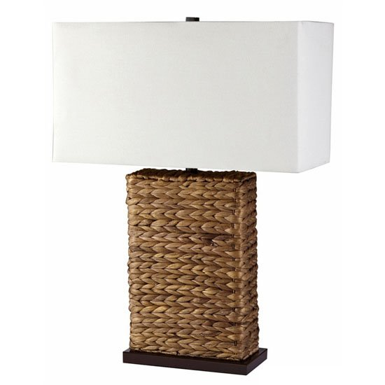 Seagrass Lamp with Shade