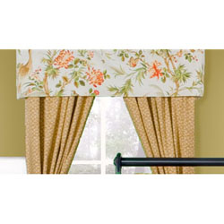St. Lucia Tailored straight Valance