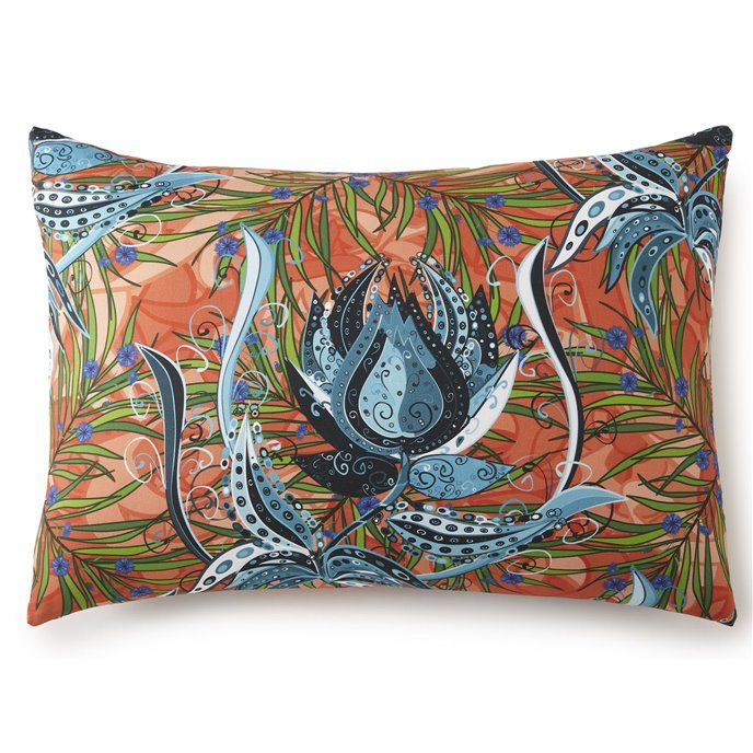 Tropical Bloom Pillow Sham Standard/Queen