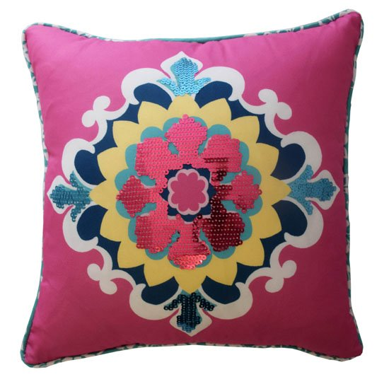 Waverly Kids Bollywood Sequin Decorative Pillow