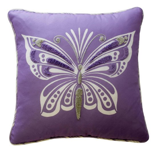 Waverly Kids Ipanema Butterfly Decorative Pillow