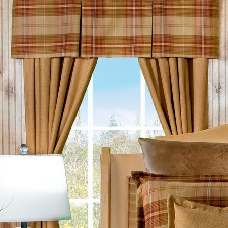 Yukon Button Pleat Valance