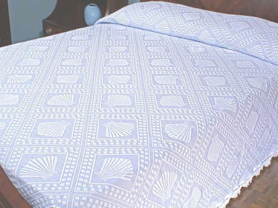 Cape Cod Twin Wedgewood Blue Bedspread