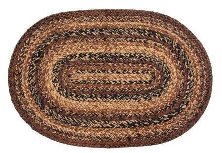 Cappuccino Oval 8 ft X 10 ft Rug