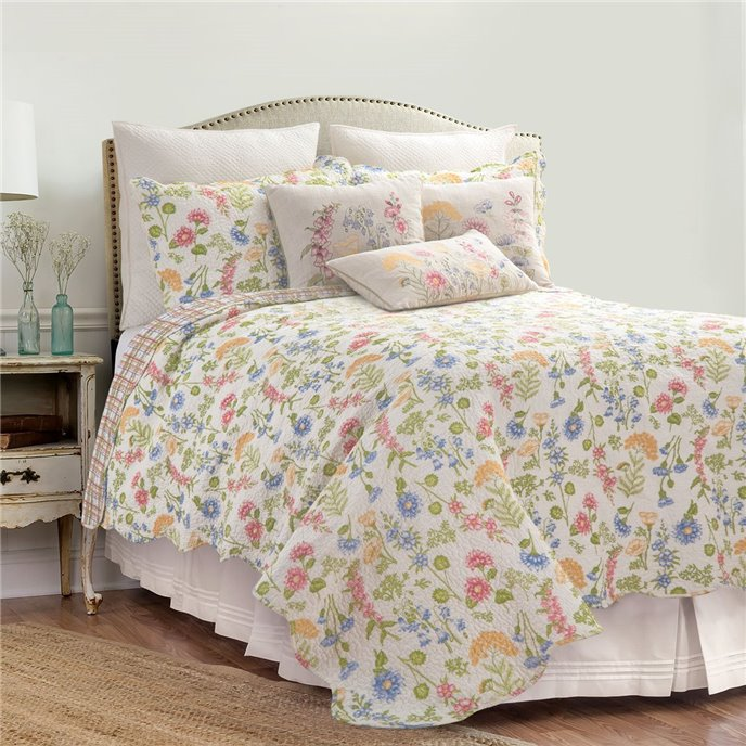 Jeanette Twin 2 Piece Quilt Set