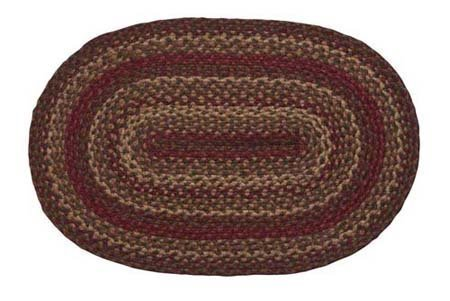 Cinnamon Oval 5 ft X 8 ft Rug
