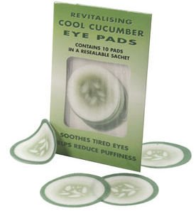 Caswell Massey Cucumber Eye Pads (pack of 10)