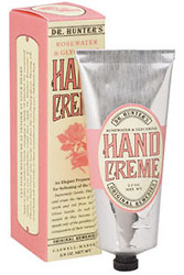 Caswell Massey Dr. Hunter Rosewater & Glycerine Hand Creme (2.5 oz.)