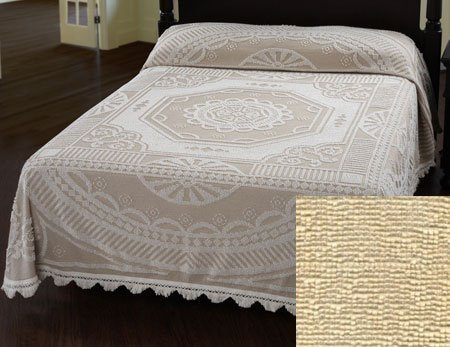 John Adams Bedspread Full Antique