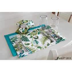 Malachite Garden Placemat by Split-P