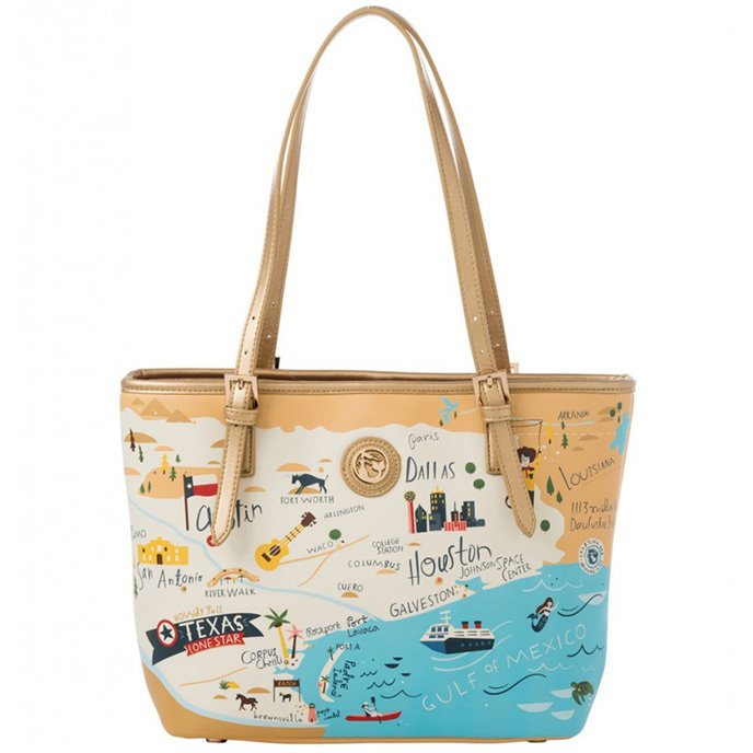 Spartina 449 Texas Small Tote from P.C. Fallon Co.