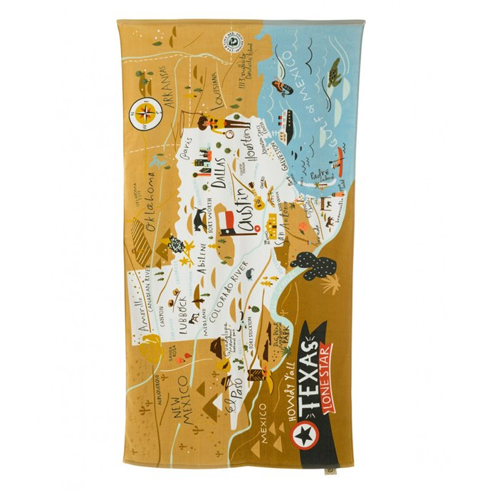 Spartina 449 Greetings from Texas Beach Towel