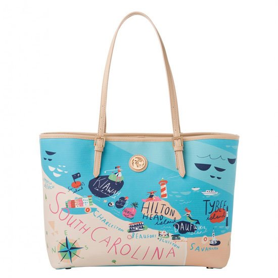 Spartina 449 Sea Islands Small Tote (with zipper)