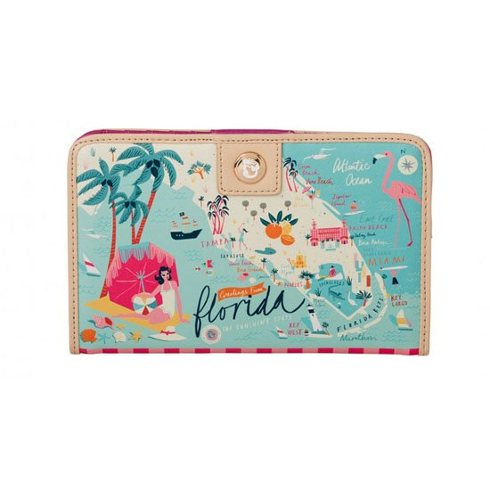 Spartina 449 Greetings from Florida Snap Wallet