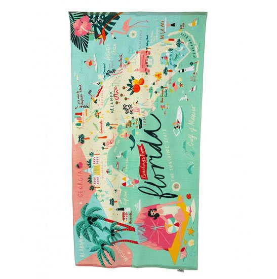 Spartina 449 Greetings from Florida Beach Towel