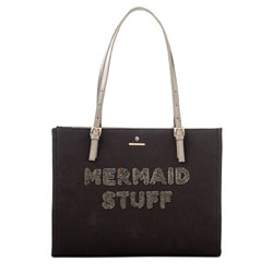 Beaded Mermaid Stuff Tote by Spartina 449 at P. C. Fallon Co.