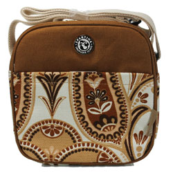 Spartina 449 Lunch Tote - Brown/St. Simons Paisley