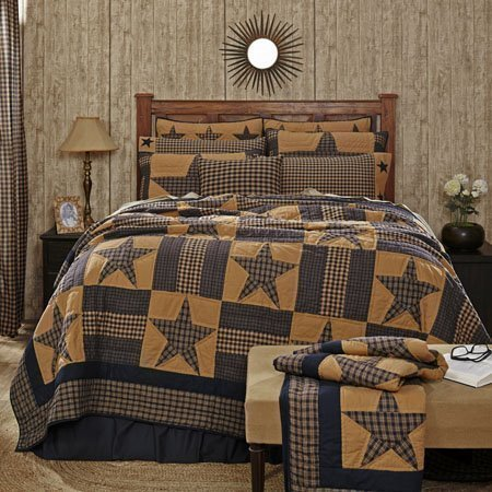 Teton Star King Quilt