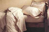 Twin Extra Long White Hospital Bed Sheet Set