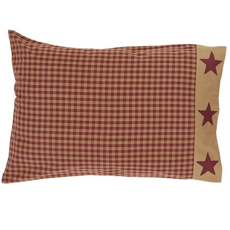 Ninepatch Star Pillow Cases