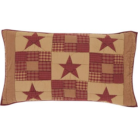 Ninepatch Star King Sham 21 x 37