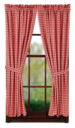 Breckenridge Scalloped Short Panels 63 x 36