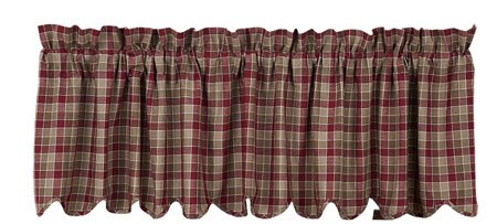 Everson Scalloped Valance 16 x 72