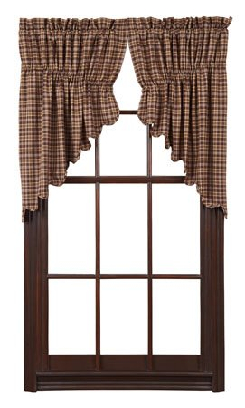 Prescott Scalloped Prairie Swags 36 x 36 x 18