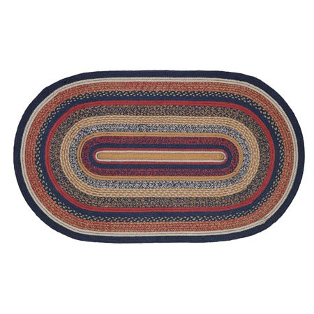 Stratton Jute Rug Oval 36