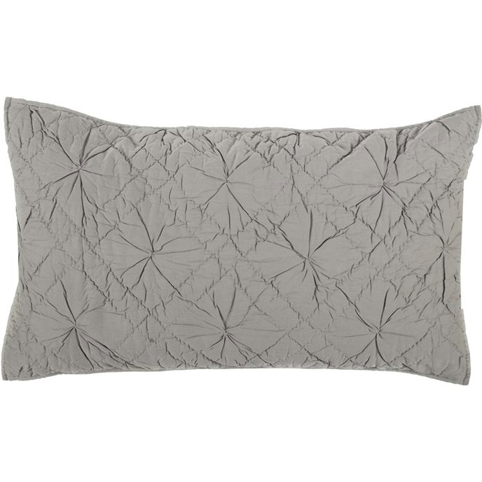 Aubree Smoke Luxury Sham