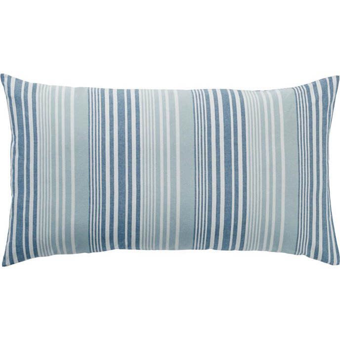 Coastal Two Tone Stripe King Sham
