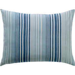 Coastal Two Tone Stripe Standard Sham