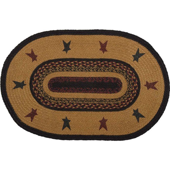 Heritage Farms Star Jute Rug Oval (20x30)
