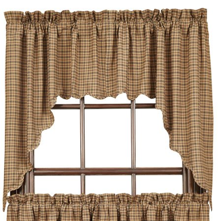 Millsboro Scalloped Swags 36 x 36 x 16