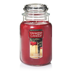 Yankee Candle Bubbly Pomegranate Large Jar Candle