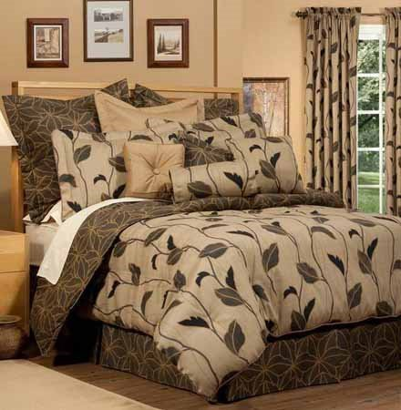 Yvette Stone King Thomasville Comforter Set (18