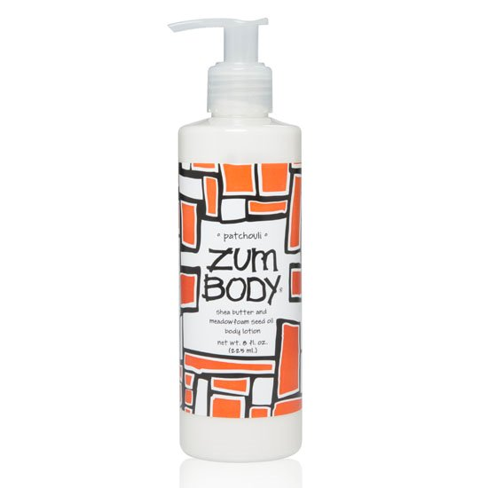Zum Body Patchouli Lotion Bottle (8 oz.)