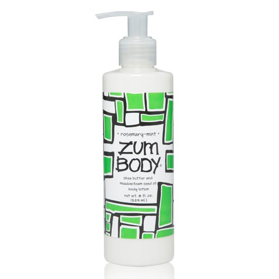 Zum Body Rosemary-Mint Lotion Bottle (8 oz)